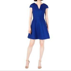 NWT Julia Jordan Textured Fit-&-flare Dress